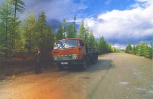 АЯМ. Участок Нерюнгри - Тында. Водитель КАМАЗа