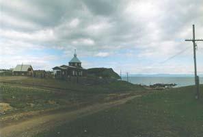Церковь в селе Байкальское