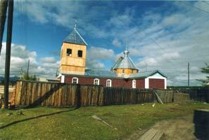 Церковь Св.Марии Магдалины в пос.Чара