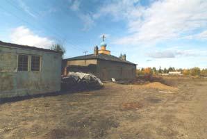 Церковь Св.Апостола Андрея Первозванного в пос.Новая Чара