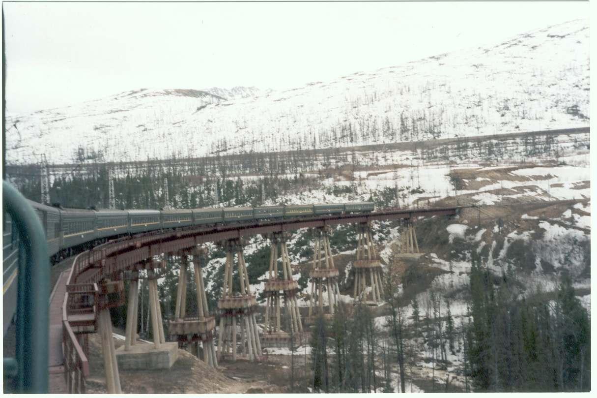 Состоялось официальное открытие сквозного движения поездов по всей Байкало-Амурской магистрали