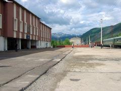 Республика Саха (Якутия). Станция Хани Д-В ЖД. Фото Петра Малахина, 2006г.