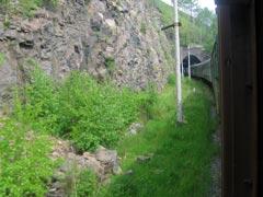 Въезд в один из многочисленных туннелей. Фото Петра Малахина, 2006г.